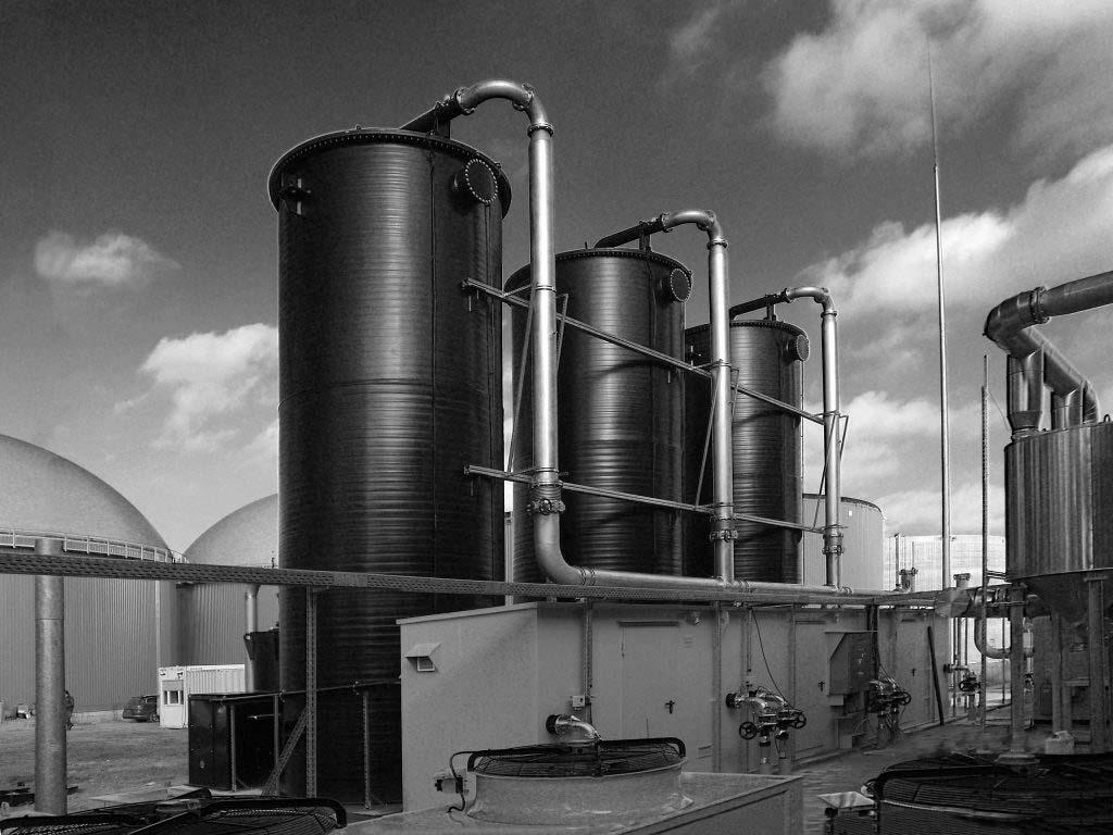 Biogasentschwefelung