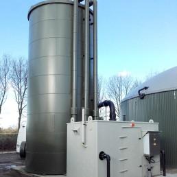 Biogas Entschwefelung desulphurization