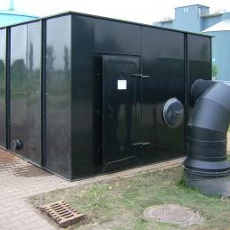Biogas Entschwefelung Bio Wäscher
