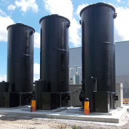 Biogas Entschwefelung Umwelttechnik Nauen