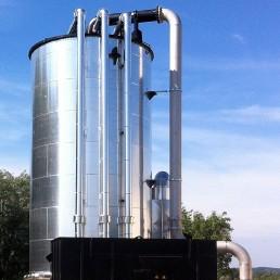 Biogas Entschwefelung Abluftreinigung Nauen