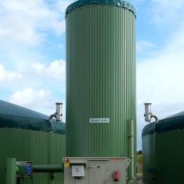 Biologische Entschwefelung Biogas Abluftreinigung