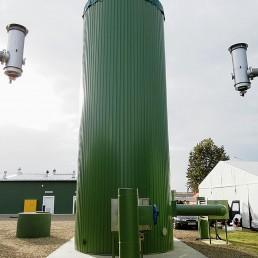 Umwelttechnik Biogasentschwefelung