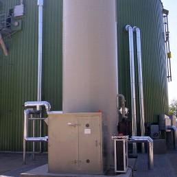 Biogas Entschwefelung desulfurization